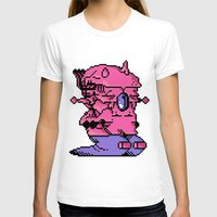 video game T-shirts featuring Double Slug - Video Game Project by Studio Momo╰༼ ಠ益ಠ ༽