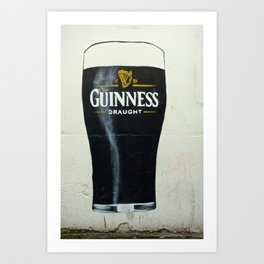 How Many Glasses of Beer on the Wall Art Print