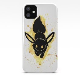 Eevee Splash Silhouette iPhone Case