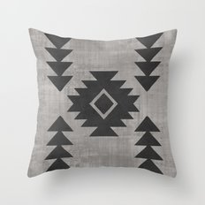 Aztec Tribal Throw Pillow