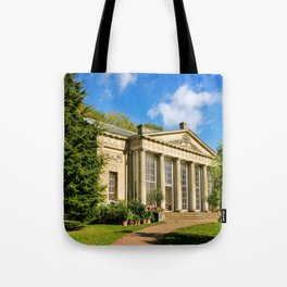 Temple Greenhouse (V2) Tote Bag