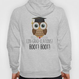 Con-grad-ulations! Hoot! Hoot! Hoody