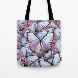 Iridescent Butterflies Tote Bag