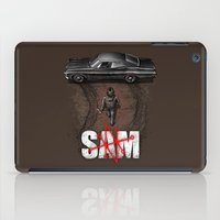 sam smith iPad Cases featuring Sam by Six Eyed Monster