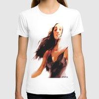 woman T-shirts featuring Woman by Francesca D'Ottavi ArtPrints-Store