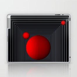 red white black -14- Laptop & iPad Skin