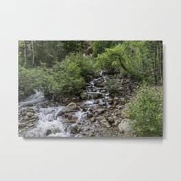 Guanella Pass Waterfall Metal Print