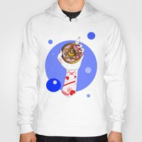 the moon Hoodies featuring Moon by scoobtoobins