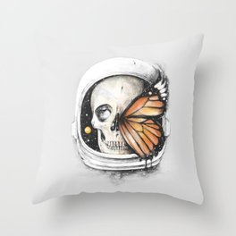 A Strange Existence of an Ending (A Space for a Beginning) Throw Pillow