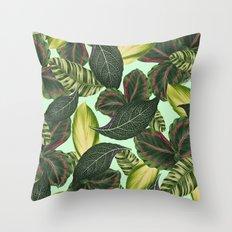 Tropical Rain Forest Throw Pillow