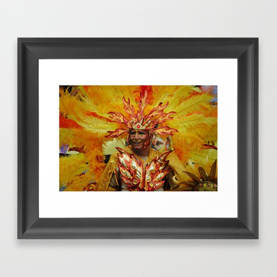 The Sun King Framed Art Print
