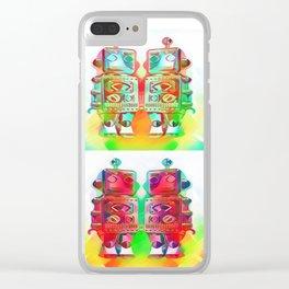 Panda Den: Mr Robot Clear iPhone Case
