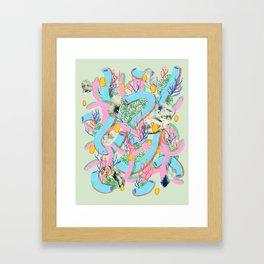 Alien Organism 7 Framed Art Print