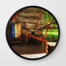 Yarnwork at the Mabry Mill Wall Clock