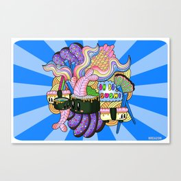 Oh SO Sushi Print by NREAZON Canvas Print