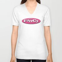 charli xcx V-neck T-shirts featuring Fancy by T-Hype (julianajace)