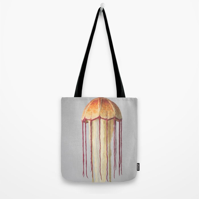 Giant Jellyfish Tote Bag