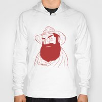 cowboy Hoodies featuring Cowboy by David Penela
