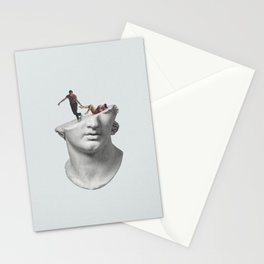 Get out of my head Stationery Cards