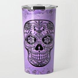 Skull20170241_by_JAMFoto Travel Mug