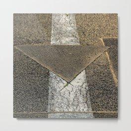 concrete arrow Metal Print