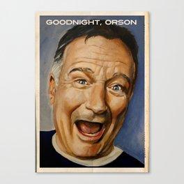 Goodnight, Orson Canvas Print