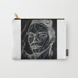 Donna Enigmatica #5; Vivien Solari #1 (B) - Artist: Leon 47 ( Leon XLVII ) Carry-All Pouch