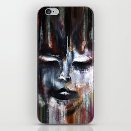 Paint a Gril iPhone Skin