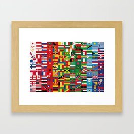 New World Order (By Color) Framed Art Print
