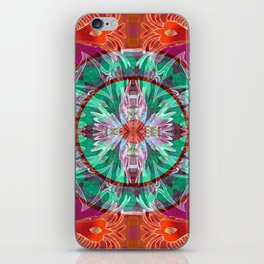 Firebird Eye of the Sky Mandala iPhone Skin