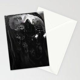 Death Necromancer Stationery Cards