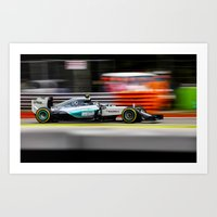 formula 1 Art Prints featuring Formula 1 by Srdjan Petrovic