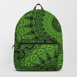 Regardlossly Plaid Mandala 1 Backpack