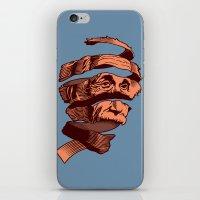 escher iPhone & iPod Skins featuring E=M.C. Escher by Tom Burns