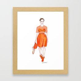 Mulberry AW 2012 Framed Art Print