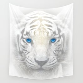Ghost Tiger Wall Tapestry