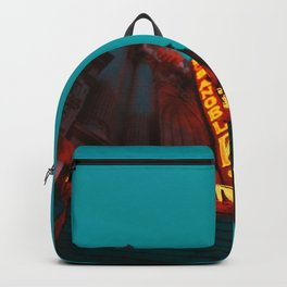 USA Photography - Los Angeles Lighted Sign Backpack