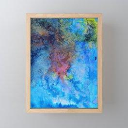 Blues Framed Mini Art Print