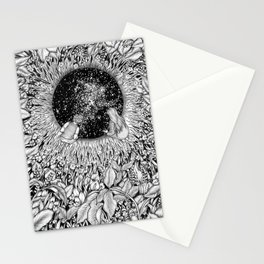 The Hole We Found In the Garden Stationery Cards