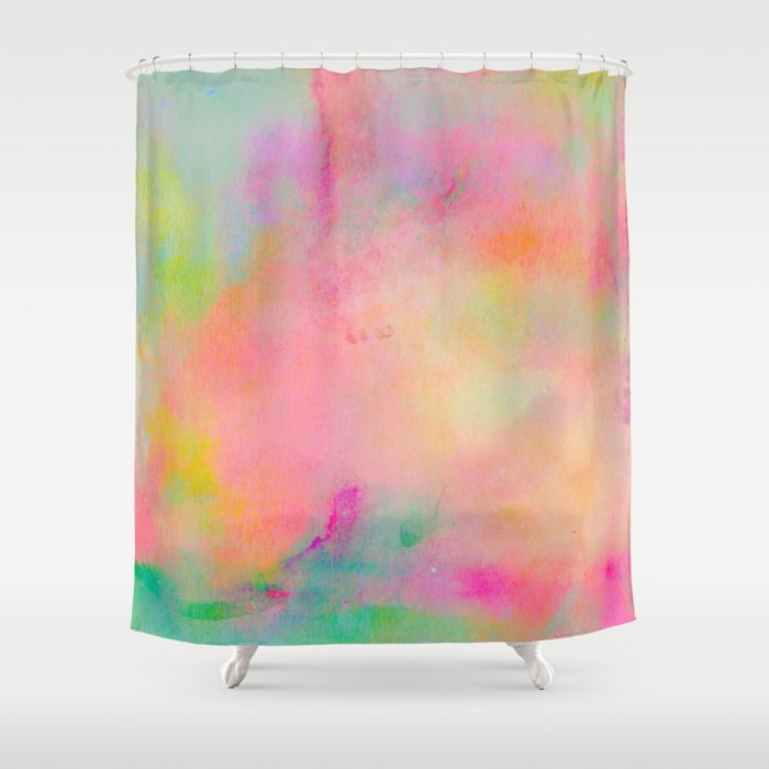 Gentil Sunshine Shower Curtain