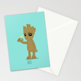 We are Groot. Stationery Cards