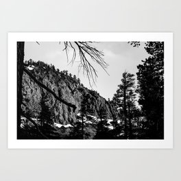 Mammoth Lakes 4 Art Print