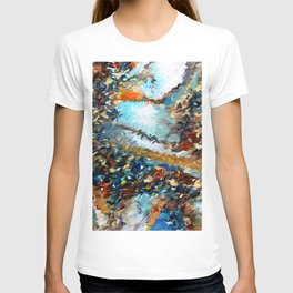 Agate Geode Abstract T-shirt