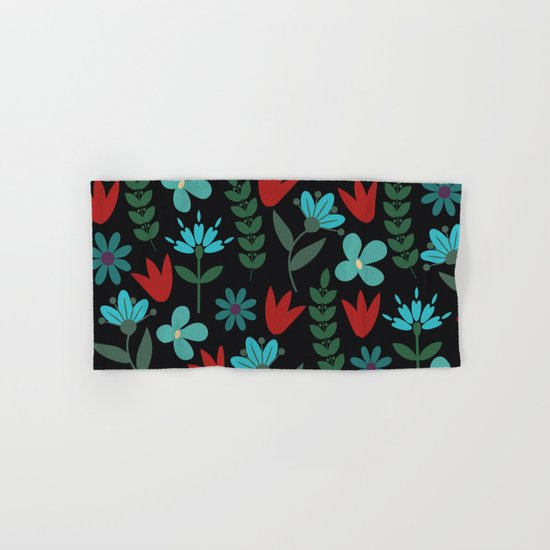 Flower Pattern XV Hand & Bath Towel