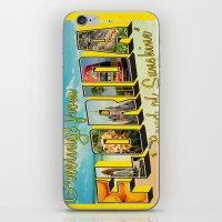 florida iPhone & iPod Skins featuring Florida by JessicaSzymanski