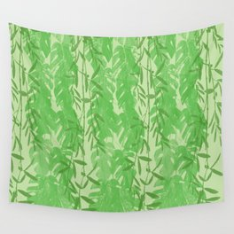 Leaves Pattern QQ Wall Tapestry
