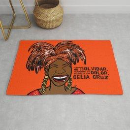 La Reina Celia Cruz Rug