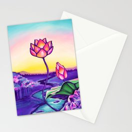 Crystalline Dream Stationery Cards