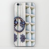 korean iPhone & iPod Skins featuring Korean Palace Doors II by Jennifer Stinson