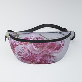 orchids w pink lights Fanny Pack
